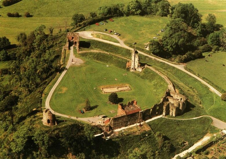 Tutbury Castle Aerial